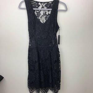 Tart Collections Lace Open Back Dress NWT